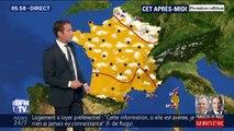 Quelques précipitations en Bretagne et dans le nord-est de la France avant une fin de journée majoritairement ensoleillée