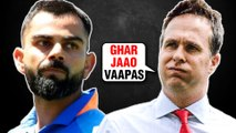 Michael Vaughan MAKES FUN Of Virat Kohli & Team India After Losing Against New Zealand