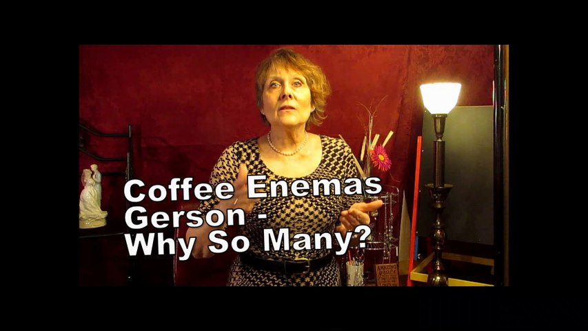 Why So Many Enemas On The Gerson Protocol
