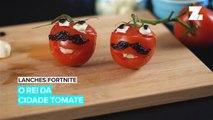 Lanches Fortnite: Tomate Recheado e Tortilla