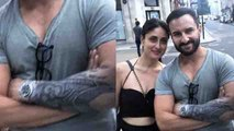 Kareena Kapoor Khan gets impressed by Saif Ali Khan's tattoo; Check out | FilmiBeat