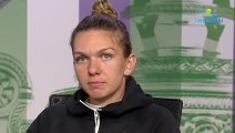 "Wimbledon 2019 - Simona Halep : ""I have a chance to win against Serena Williams"""