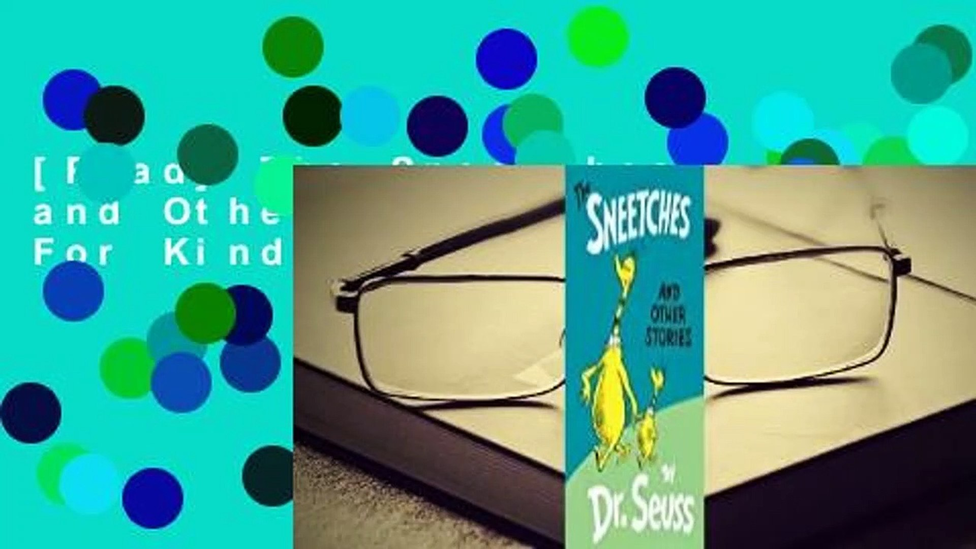 [Read] The Sneetches and Other Stories  For Kindle