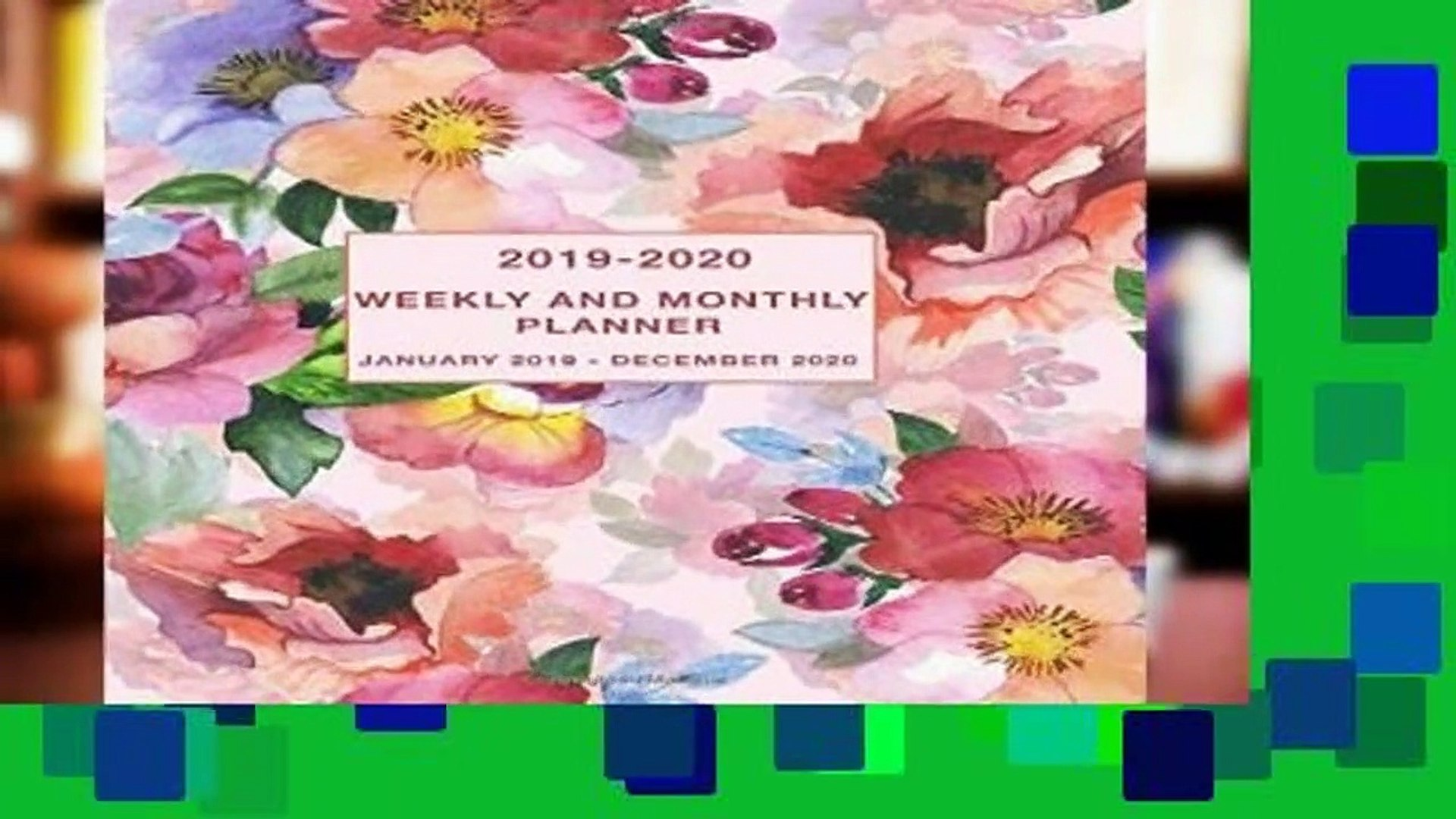 About For Books  2019-2020 Weekly and Monthly Planner January 2019 - December 2020: Two Year