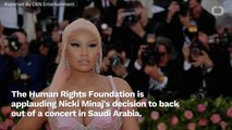 Nicki Minaj Cancels Concert At Saudi Arabian Festival
