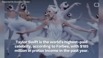 Taylor Swift Is The World's Highest Paid Celebrity