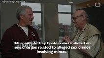 Billionaire Jeffrey Epstein Accused Of Alleged Sex Trafficking Minors