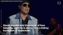 Stevie Wonder Reveals Bombshell Health News To London Audience