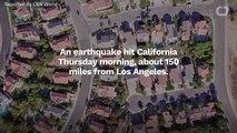 Earthquake Shakes Up Southern California