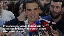 Greek PM: 'We Accept The People's Verdict'
