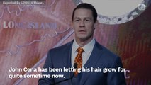 John Cena Returns To WWE Look With New Haircut