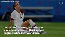Alex Morgan Shades England With Goal