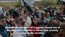 Alexandria Ocasio-Cortez Talks About Border Facility Conditions