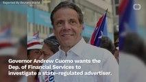 NY Governor Cuomo Orders Probe Into Facebook's Advertising Scheme