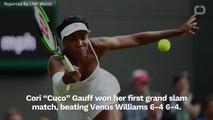 Coco Gauff Beat Venus Williams