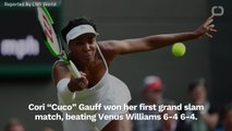 Coco Gauff Beat Venus Williams