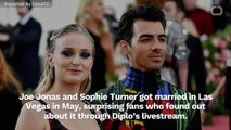 Joe Jonas And Sophie Turner Have Official Wedding In France