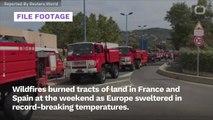 Europe Sweats, Burns In Record-Breaking Heat
