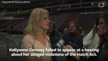 House Committee Votes To Subpoena Kellyanne Conway's Testimony