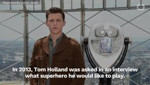Tom Holland Talked About Playing Super-Man In 2013