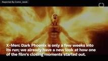 Dark Phoenix Concept Art Soars