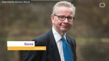 UK PM Candidate Gove Says Brexit Before General Election