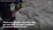 Mount Everest Is So Jammed With Climbers That People Are Dying While They Wait In Line