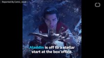 Aladdin Tops Box Office On Opening Night