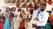 This TN couple received buckets of water as a wedding gift