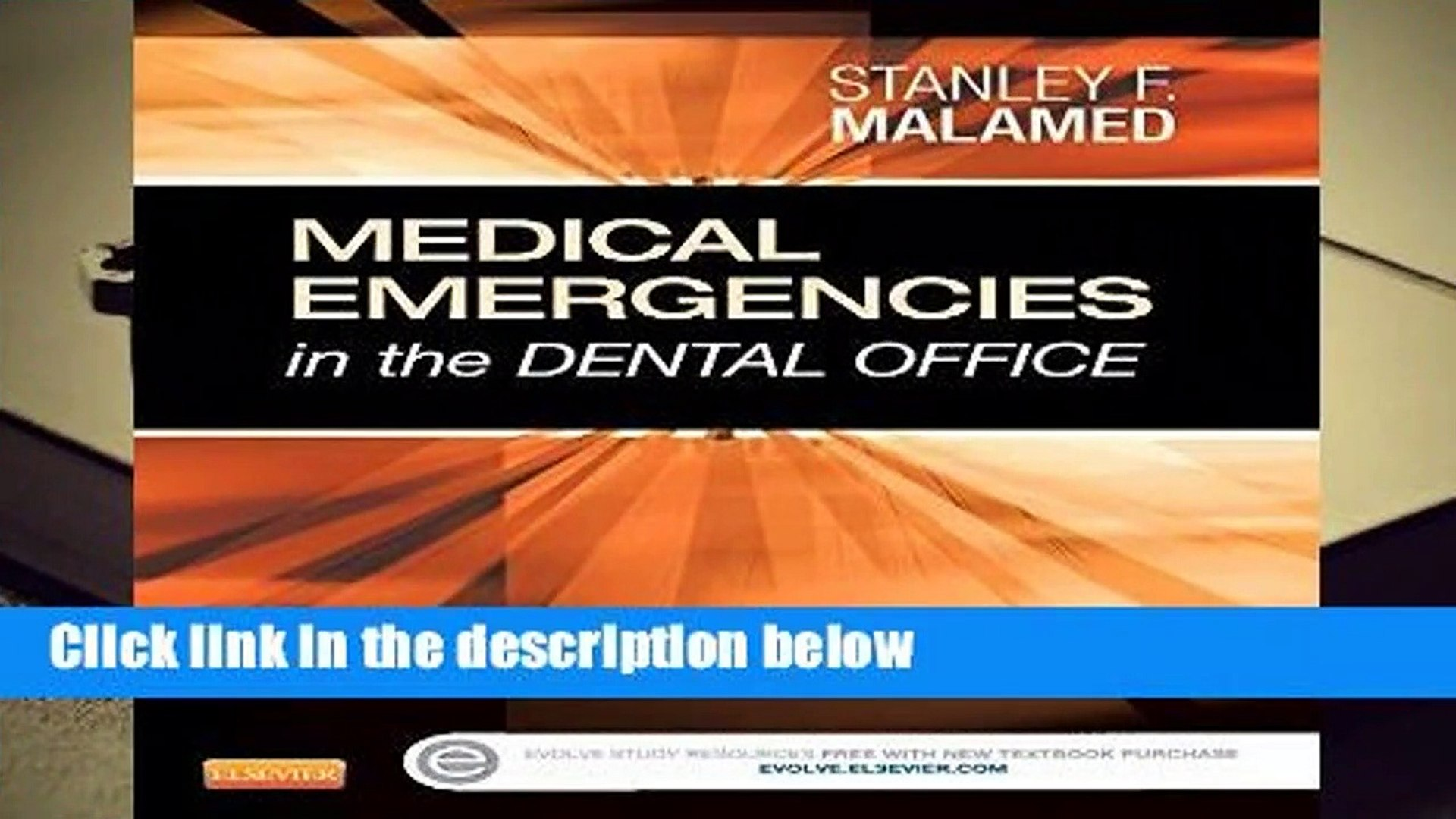 Medical Emergencies In The Dental Office Malamed Download