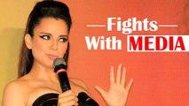 Top 5 Fights Of Kangana Ranaut With Media