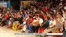 Festival de Taputapuatea, deuxième soirée
