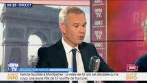 """François de Rugy: """"Je n'ai absolument pas de raisons de démissionner"""""""