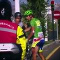 Cycliste en colère en pleine course - Compilation !