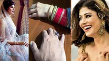 Pooja Batra secretly gets married with Nawab Shah; Watch video | FilmiBeat