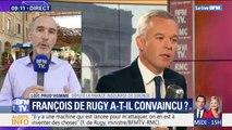 """Loïc Prud'homme (LFI) réagit aux révélations sur François de Rugy: """"On est face à un gouvernement de dégoûtants qui produit un pays de dégoûtés"""""""