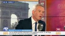 """François de Rugy : """"On dit que ma femme est Marie-Antoinette"""""""