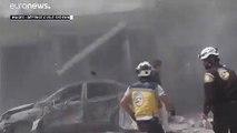 Syrie : les raids aériens se poursuivent dans la région d'Idleb