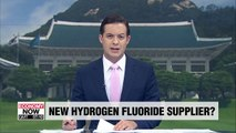 Russia offers to supply S. Korean firms with hydrogen fluoride