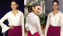 Rakul Preet Singh looks beautiful at Mumbai event; Watch Video