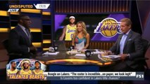 Shannon Sharpe react to DeMarcus Cousins says the Lakers have a roster full of talented beasts