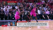 Kawhi, Paul George make the Clippers a top three team in the West – Bruce Bowen _ SportsCenter