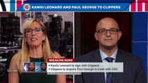 Kawhi Leonard, Paul George are worth all the picks the Clippers gave up - Bobby Marks _ SportsCenter