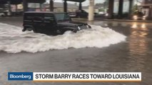 Tropical Storm Barry Churns Toward Louisiana