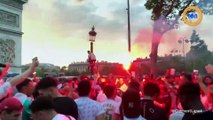Les débordements des supporters algériens après la qualification de l'Algérie en demi finale de la CAN