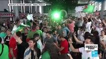 """CAN-2019 : """"One two three viva l'Algérie"""", euphorie des supporters après la victoire des Fennecs"""
