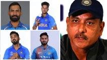 World Cup 2019 : தோல்விக்கான காரணம் இவர்கள் தான்.. பழியை போட்ட ரவி சாஸ்திரி- வீடியோ