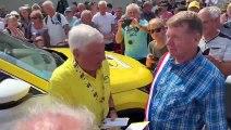 Tour de France : Raymond Poulidor à Aibre pour rendre hommage à Claude Sudres et Jean-Paul Brouchon