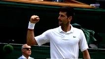 Wimbledon : Djokovic, la muraille infranchissable