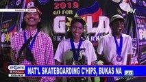 Nat'l skateboarding c'ships, bukas na